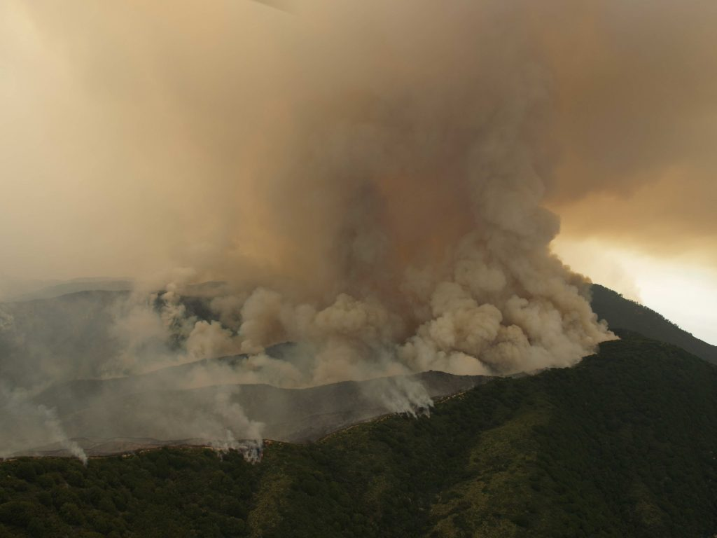 2008 Indians Fire