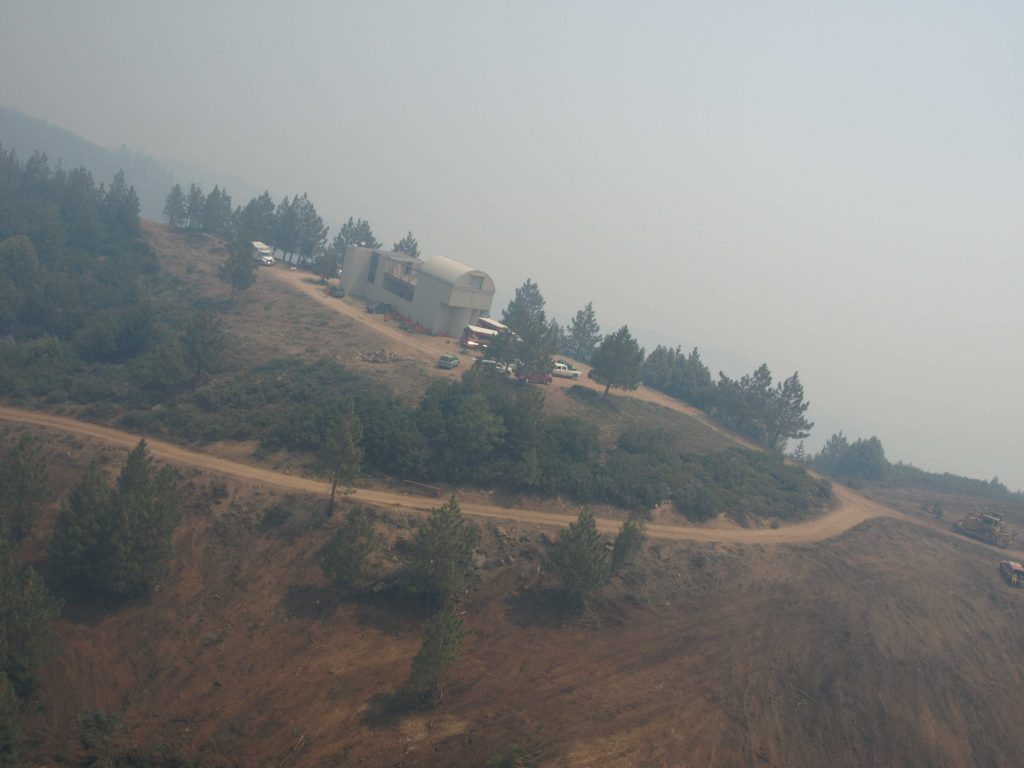 2008 East Basin Fire