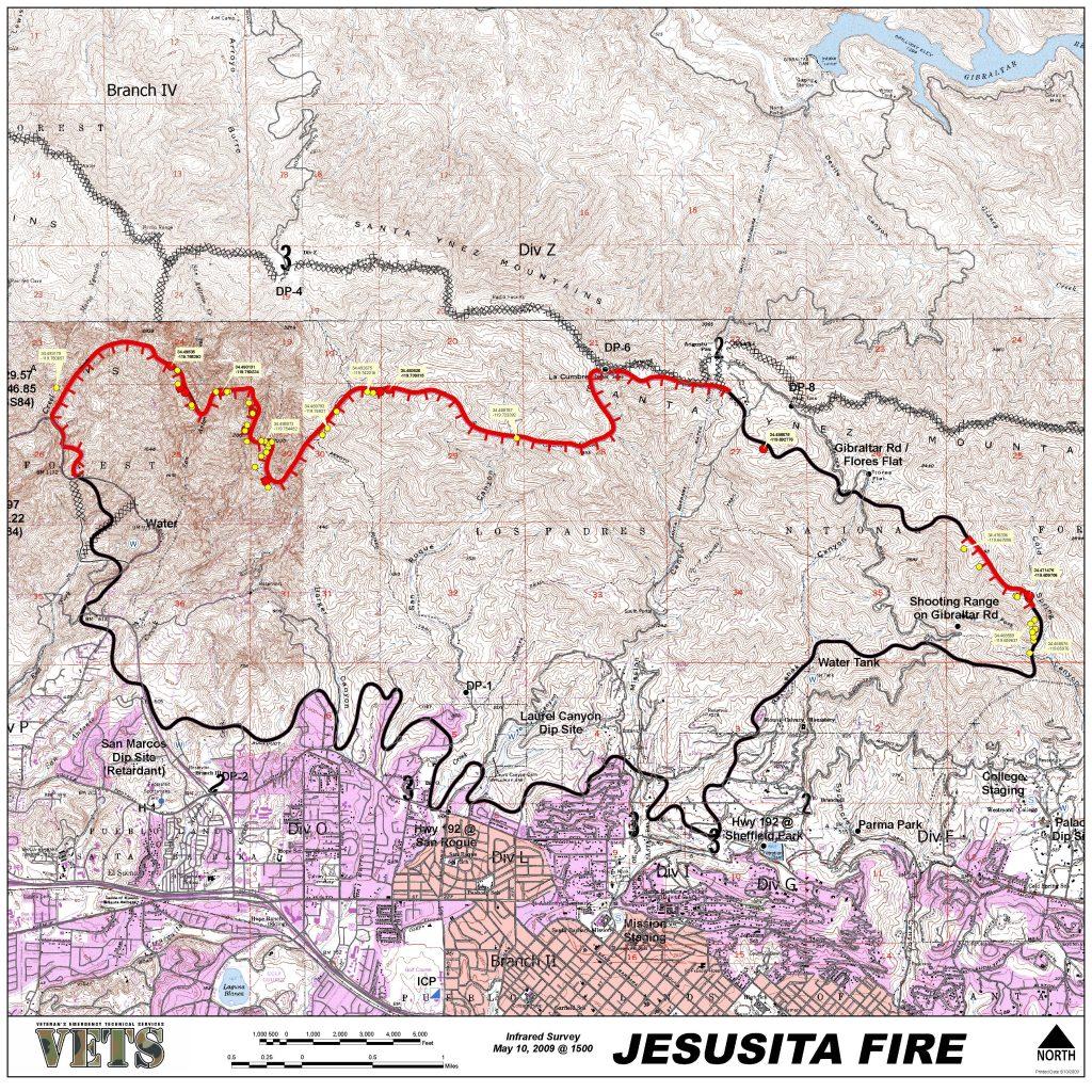 2009 Jesusita Fire