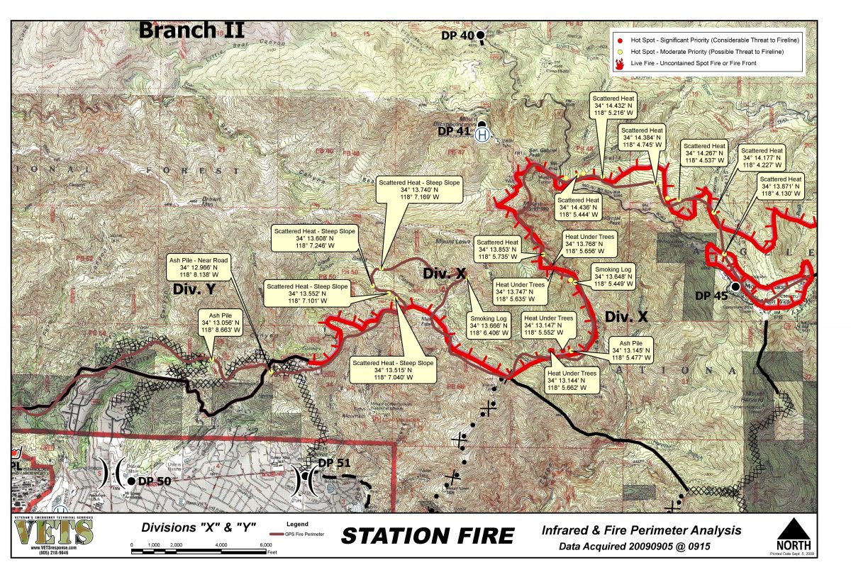the consequences of the 2009 station fire in northern la 6el colegio de la frontera decades as a consequence of increasing fire activity in northern and western 2000 to 2009 [canadian interagency forest fire centre.